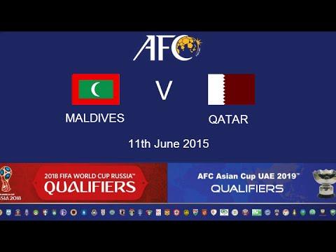Maldives v Qatar: 2018 FIFA WC Russia & AFC Asian Cup UAE 2019 (Qly RD 2)