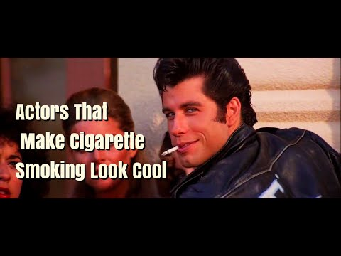 Actors That Make Cigarette Smoking Look Cool