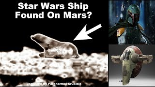 Star Wars Ship Found On Mars?