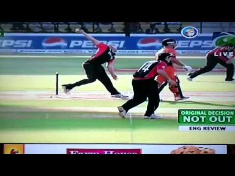 Asad Rauf's amazing decision in world cup 2011 match!