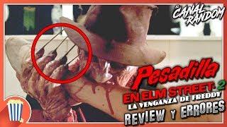 Errores de Películas Pesadilla en Elm Street 2 Review Crítica y Resumen La Venganza de Freddy