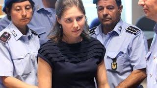 Amanda Knox und Raffaele Sollecito freigesprochen von Meredith Kercher Mord, 27. März 2015