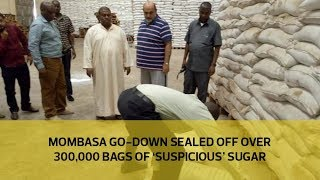 A go-down in Mombasa has been declared a crime scene after police f...