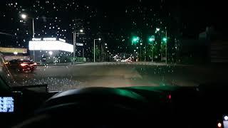 레인센서(우적감지와이퍼) 작동 영상