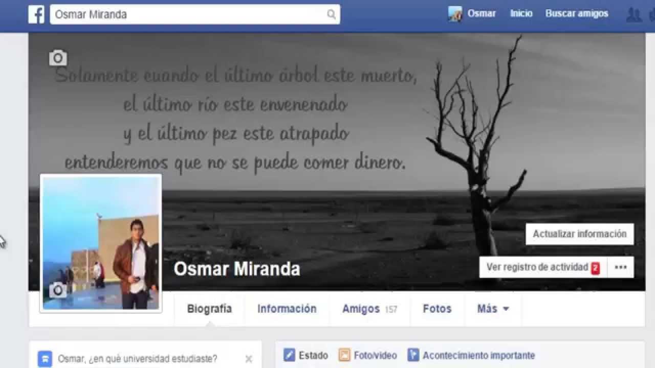 Como cambio mi foto de perfil en facebook nuevo 79