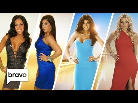 Every Real Housewives of New Jersey Intro Ever | Bravo
