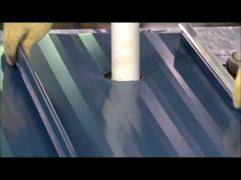 This Metal Sales Video Shows Vertical Seam Panel Clip And Flashing Installation Youtube