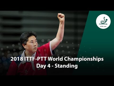 ITTF Para World Championships | Day 4 (Standing)