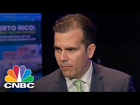 Puerto Rico Gov. Ricardo Rossello On Island's New Fiscal Plan And Hurricane Relief (Full) | CNBC