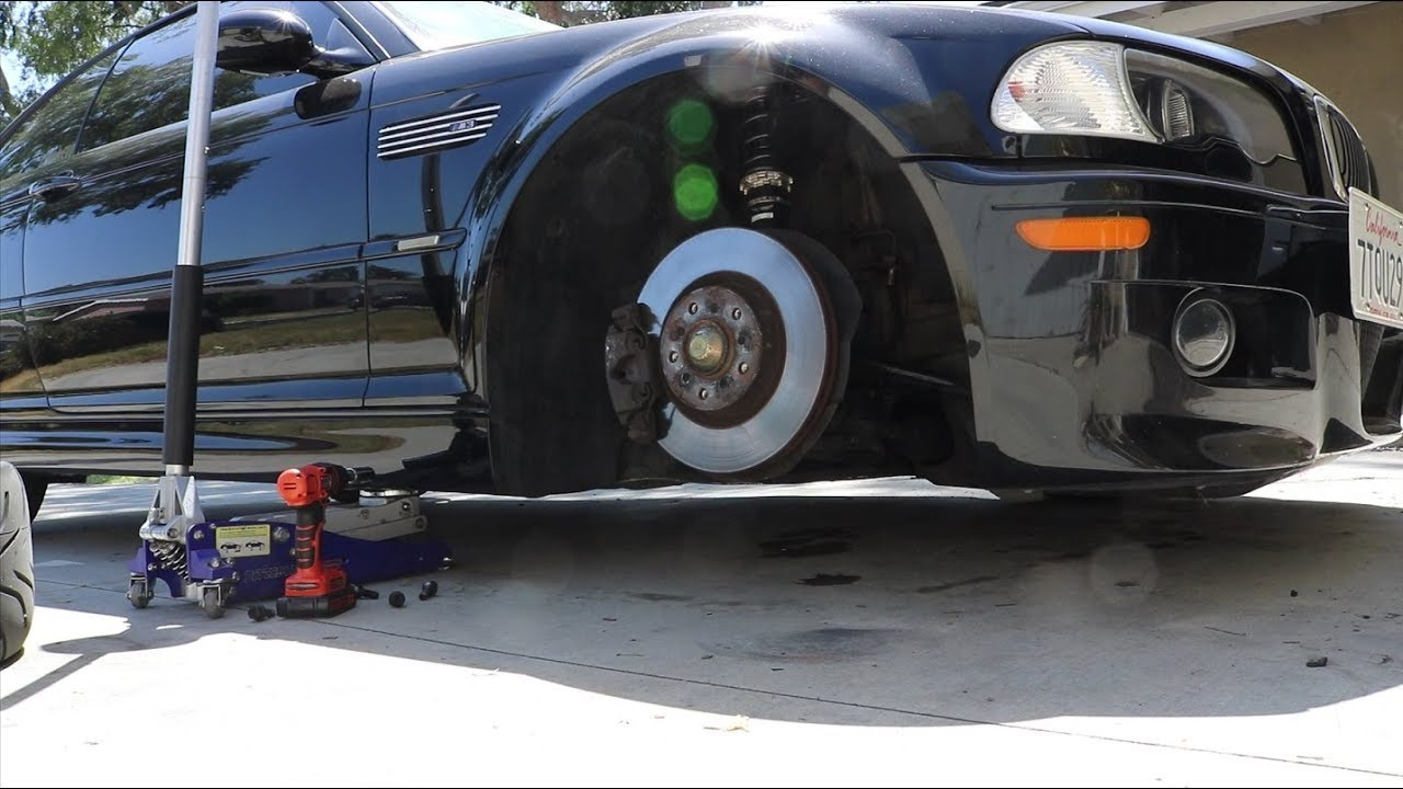 VLOG #5 - E46 M3 BC RACING Coilover Install