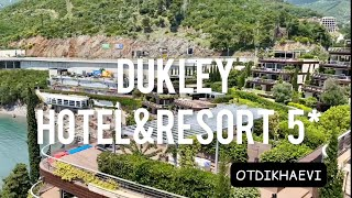 Dukley hotel resort 5 люкс отель в Будва Черногория обзор июнь 2021