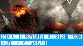 Killzone Shadow Fall PS4 Vs Killzone 3 PS3 - Console, Tech & Graphics Analysis & Comparison Faceoff