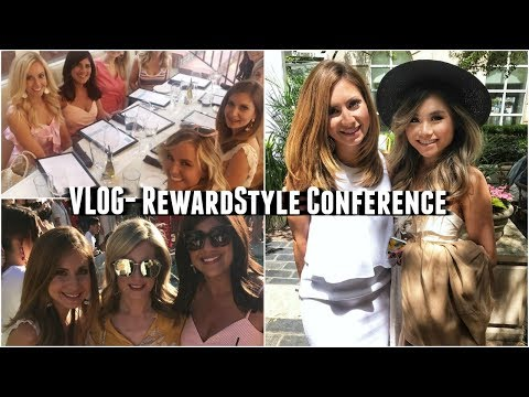 My FIRST VLOG! The RewardStyle Conference, Outfits, Parties and Fun with Marnie