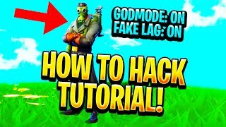 HACKING FORTNITE IN 2018 TUTORIAL ( UDP UNICORN LAG SWITCH)