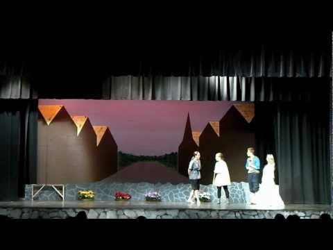 Taming of the shrew act 6 White Mountains Regional High School