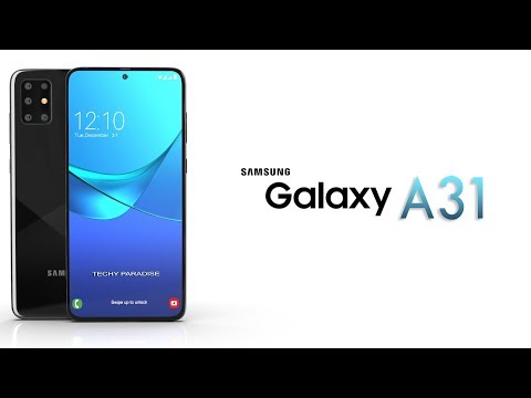 Samsung Galaxy A31-Trailer Official Concept Introduction !