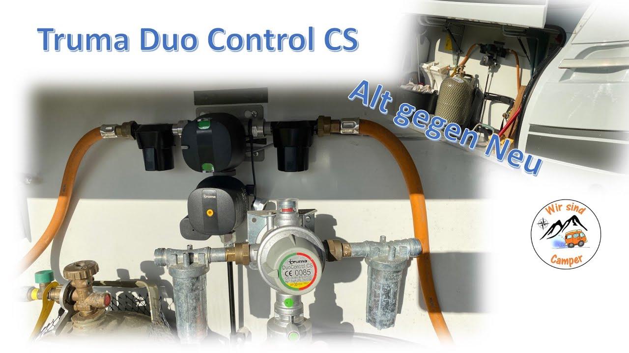 wechsel auf die neue truma duo control cs automatische gasflaschen umschaltung youtube. Black Bedroom Furniture Sets. Home Design Ideas