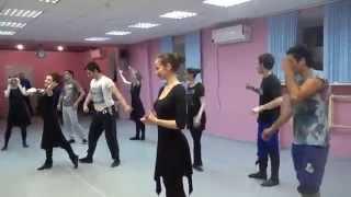 Репетиция финала кумыкского танца Лезгинка видео Как танцевать лезгинку Уроки танца