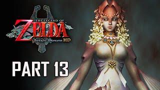 The Legend of Zelda Twilight Princess HD Walkthrough Part 13 - Queen Rutela (Hero Mode)