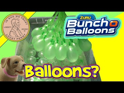 Bunch O Balloons Review 100 water balloons in less than a minute!