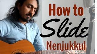 How to play Nenjukkul Peythidum | Tabs + Guitar played | Full song