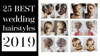 25 best wedding hairstyles 2019 | Buns for any length from shot to long hair