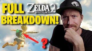 Breath of the Wild 2 - New Trailer Breakdown!!!