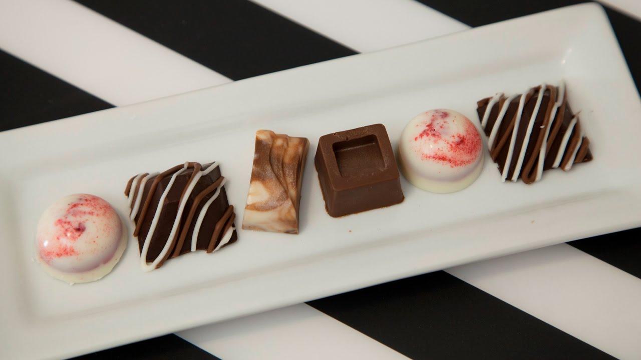 Download HOW TO MAKE CHOCOLATE CANDIES (CARAMEL, CRANBERRY, & IRISHE CREAM GANACHE)