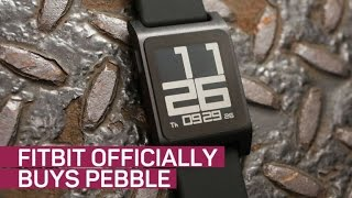 Fitbit officially buys Pebble