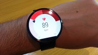 Heart Rate Monitor on Moto 360(The Moto 360 is an Android Wear-based smart watch announced by Motorola Mobility in 2014.It was announced on March 18, 2014 and was released on ..., 2014-12-08T22:28:59.000Z)