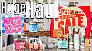 ✨NEW!! HUGE BATH & BODY WORKS SEMI ANNUAL SALE HAUL 2019 :: BBW SUMMER SAS :: This Crazy Life