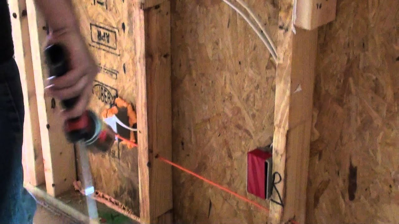 Air Sealing Outer Walls Youtube
