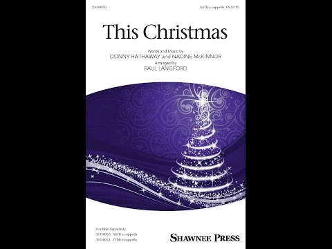 This Christmas - Arranged by Paul Langford