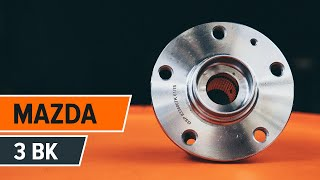 How to replace Mounting axle bracket MAZDA 3 (BK) Tutorial
