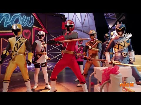 """Power Rangers Super Ninja Steel - Blue Rangers Mission 