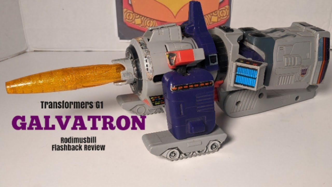 Transformers G1 GALVATRON (1986) Figure Review - A Rodimusbill Flashback!