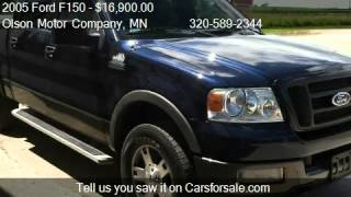 2005 Ford F150 FX4 SuperCrew 4WD - for sale in Morris, MN 56