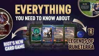 LEGENDS OF RUNETERRA: Everything you need to know about Riot's new Card Game