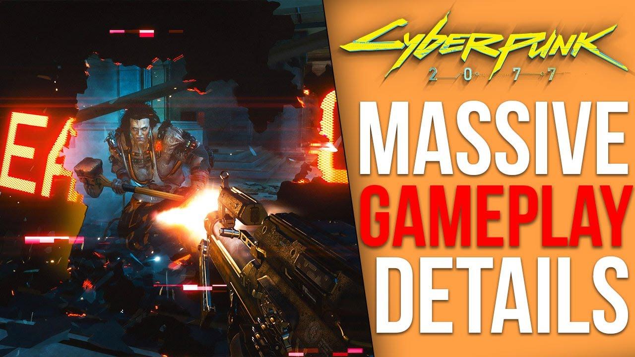 Cyberpunk 2077 News - Multiple Endings, Big New Gameplay Details, New Screenshots, Gameplay Coming thumbnail