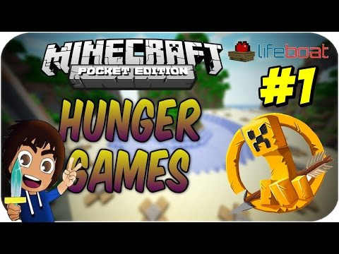 Minecraft PE: Hunger Games #1 - Sonunda