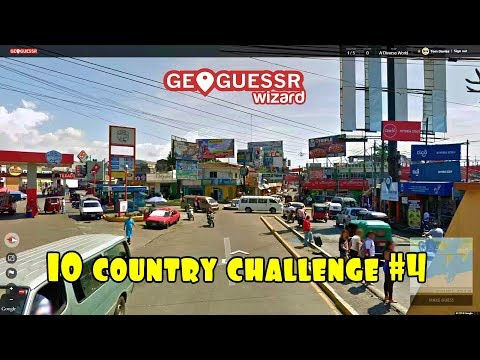 Geoguessr - 10 country challenge #4 - A diverse world..