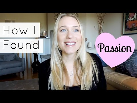 HOW I FOUND MY PASSION: EDUCATION & CAREER