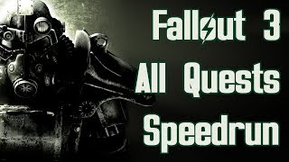 Fallout 3 All Quests Speedrun in 1:18:11 (World Record)