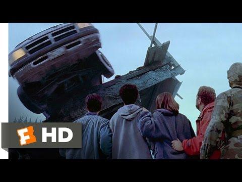 Dante's Peak 810 Movie   The Bridge is Destroyed 1997 HD