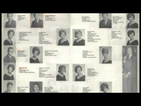Pennsbury High School Class of 1965 yearbook picture video w/music.