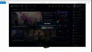 How to log oขt of League of Legends.