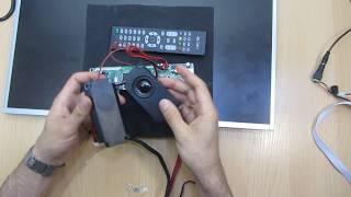 Универсальный скалер HK T.RT2936V02  DVB-C DVB-T2 + эфирное ТВ Обзор