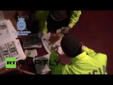 Colombia: Police raid counterfeit cash outfit in Bogota, arrest 5 suspects