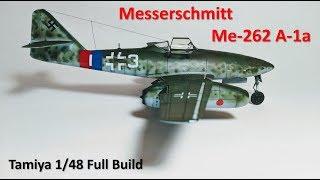 Messerschmitt Me-262 A-1a  Tamiya 1/48 Full Build