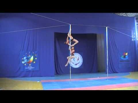 Чемпионат России Pole Sport Russia. ЦФО-2015 Чепрасова Марина-Заверина Ирина